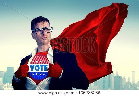 Vote Election Campaign Politics Rights Democracy Concept