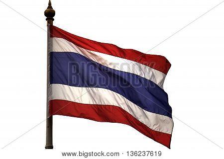 Thailand flag symbol of Thailand , The land of smile.
