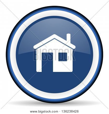 house round glossy icon, modern design web element