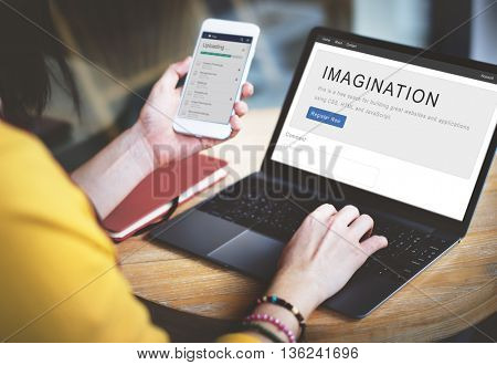 Imagination Dream Motivation Strategy Innovation Concept