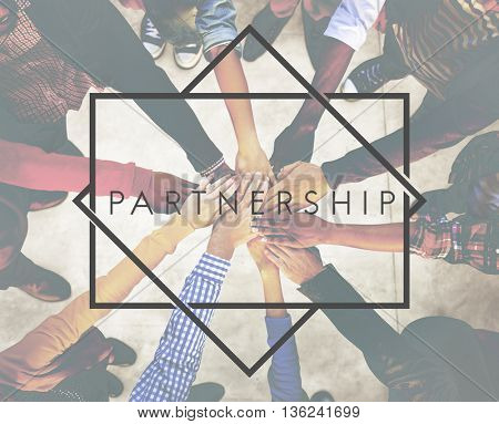 Partner Partnership Team Unity Togetherness Concept