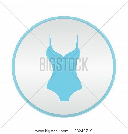 vector icon underwear brassiere pants illustration on background