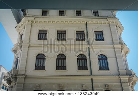 Architectural Details Of Art Museum At Rio Janeiro