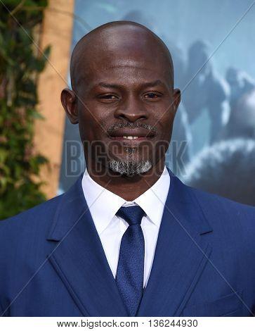 LOS ANGELES - JUN 27:  Djimon Hounsou arrives to the