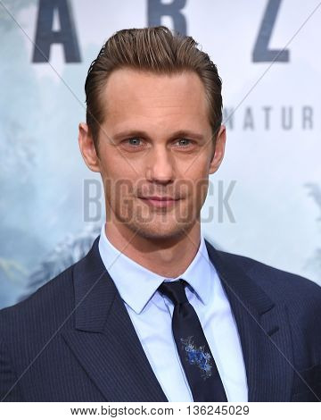 LOS ANGELES - JUN 27: Alexander Skarsgard arrives to the
