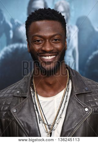 LOS ANGELES - JUN 27:  Aldis Hodge arrives to the