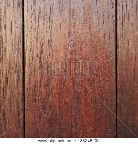 Close-up fragment of a wall made of painted wooden planks as a background texture composition