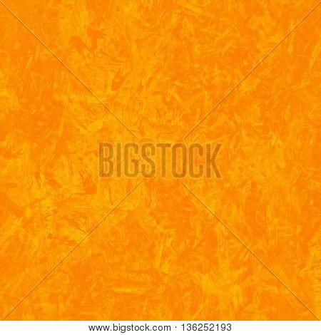2D illustration of a orange brush strokes background