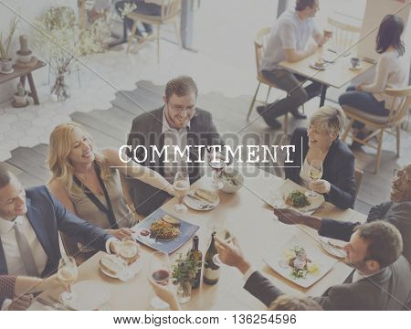 Commitment Agreement Arrangement Promise Obligation Concept