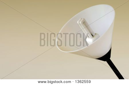 Energy Saving Light Bulb And Lamp Shade