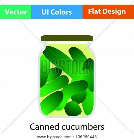 Canned Cucumbers Icon