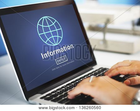 Information Ideas Innovation Research Learning Web Concept