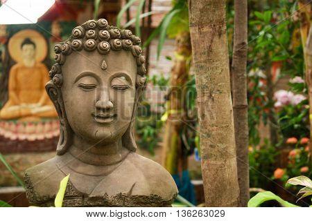 Ancient Buddhist Pagoda Ruins At Chai Watthanaram Temple