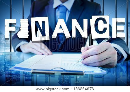 Finance Financial Budget Accounting Money Concept
