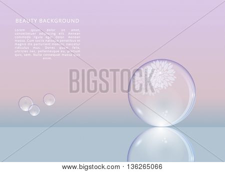 BEAUTY , VECTOR BACKGROUND