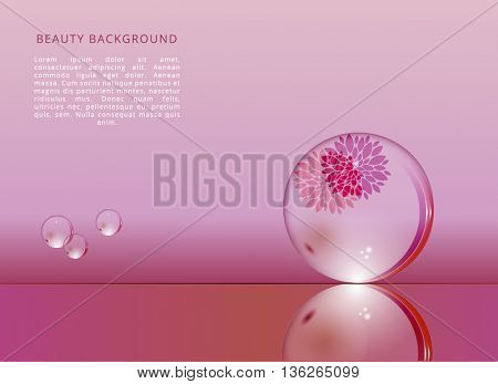 BEAUTY VECTOR BACKGROUND