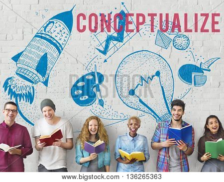 Conceptualize Ideas Creativity Imagination Light Bulb Concept