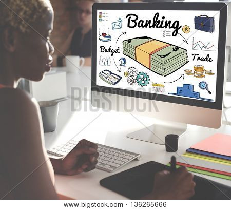 Banking Financial Money Economy Savings Concept
