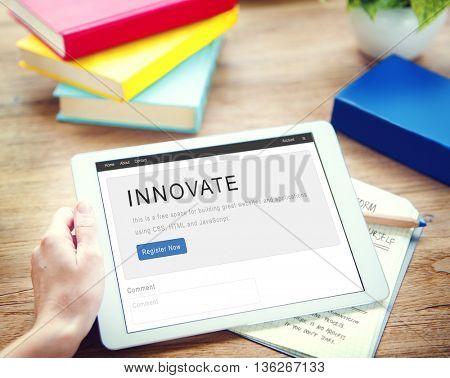 Innovate Creative Strategy Future Design Concept
