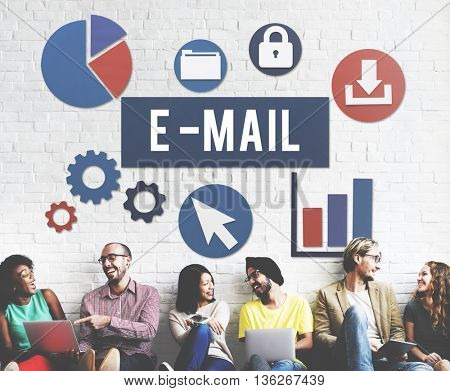 E-Mail Communication Connection Internet Concept