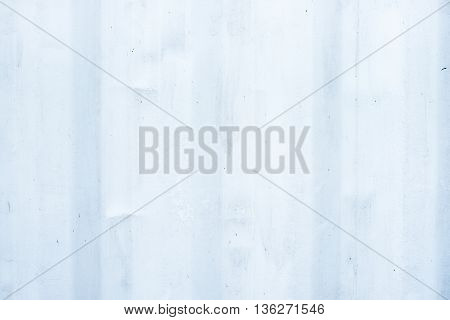 Old White Metal Ripple Sheet Wall, Texture Background