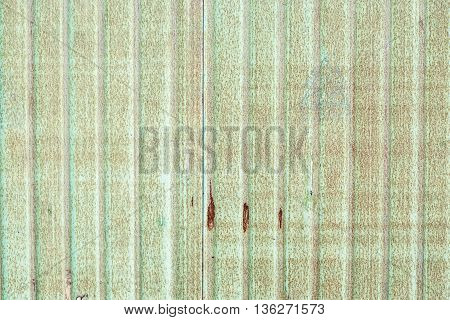 Green Old Galvanized Iron Wall,grunge Texture Background