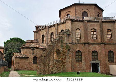 St. Vitale Basilica Church