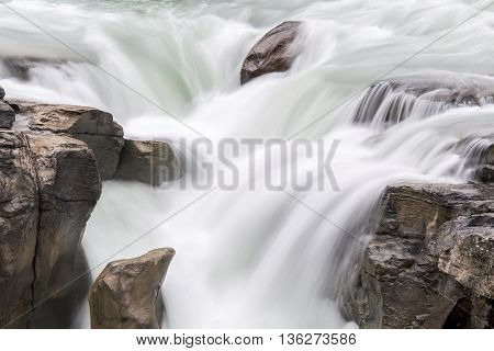 Waterfall - Jasper National Park, Canada