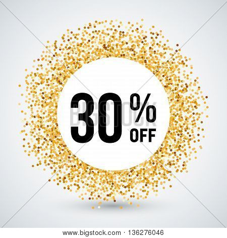 Golden Circle Frame with Discount Thirty Percent