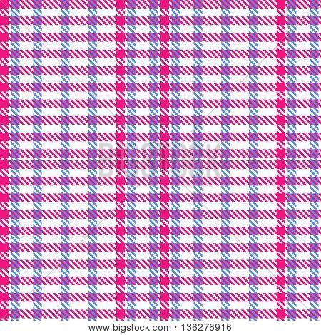 Tartan seamless pattern. Traditional fabric design. Vector illustration.