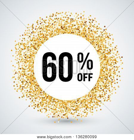Golden Circle Frame with Discount Sixty Percent