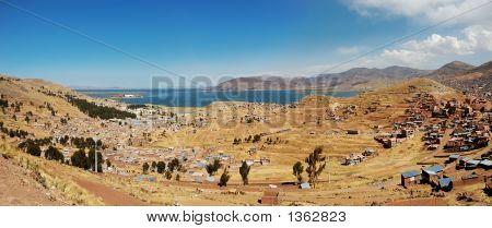 Heavily Populated Highland Panorama