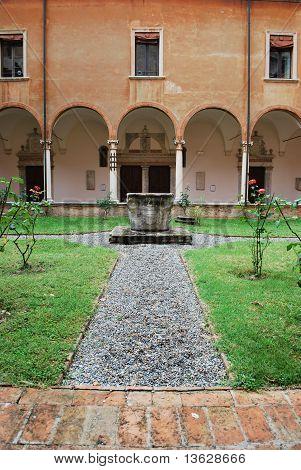St. Vitale Basilica Church Cloister