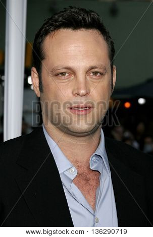 Vince Vaughn at the World premiere of 'The Break-Up' held at the Mann Village Theatre in Westwood,  USA on May 22, 2006.