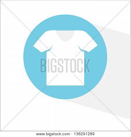 vector icon t-shirt undershirt illustration on background