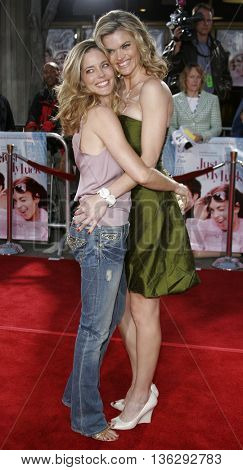 Missi Pyle and Christina Moore at the Los Angeles premiere of 'Just My Luck' held at the Mann National Theater in Westwood, USA on May 9, 2006.