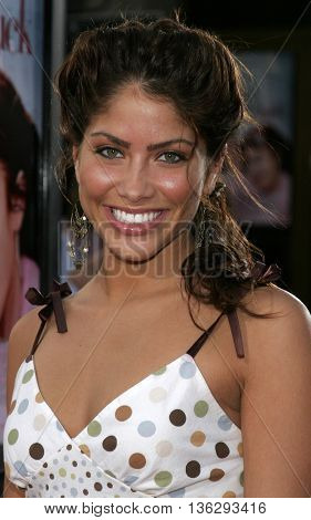 Valery Ortiz at the Los Angeles premiere of 'Just My Luck' held at the Mann National Theater in Westwood, USA on May 9, 2006.