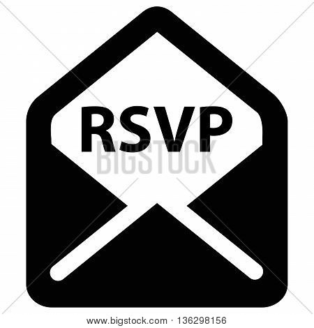 rsvp invitation computer icon symbol envelope letter mail design element, design