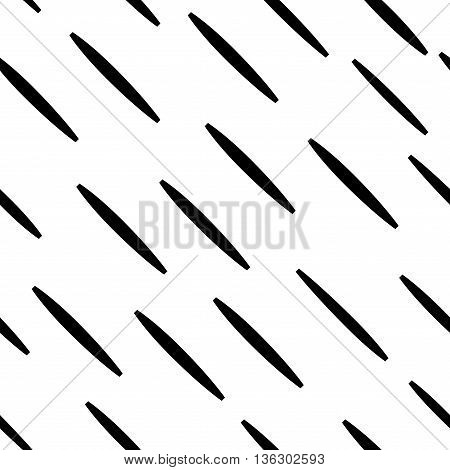 Hatch black seamless pattern. Fashion graphic background design. Modern stylish abstract texture. Monochrome template for prints textiles wrapping wallpaper website. VECTOR illustration