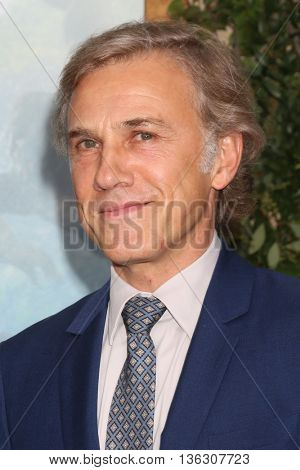 LOS ANGELES - JUN 27:  Christoph Waltz at The Legend Of Tarzan Premiere at the Dolby Theater on June 27, 2016 in Los Angeles, CA