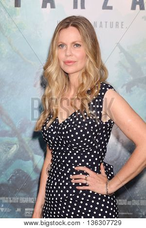 LOS ANGELES - JUN 27:  Kristin Bauer Von Straten at The Legend Of Tarzan Premiere at the Dolby Theater on June 27, 2016 in Los Angeles, CA