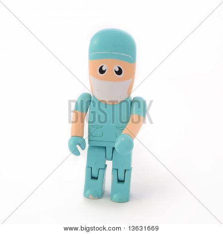 Plastic Surgeon Puppet Toy