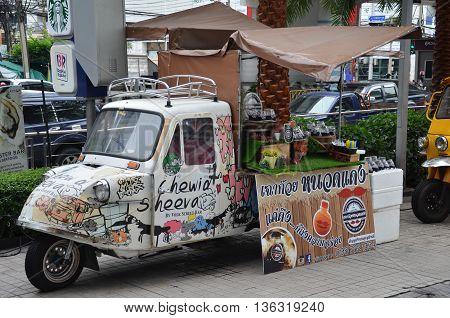 Modified Tuk Tuk Truck For Food Business