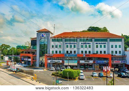 Marine Authorities Building In Panama City