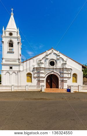 The church was founded in 1927 and is named after the patron saint of Pese in Panama where it is situated