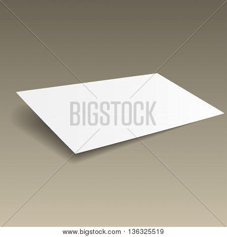 Business Card Mockup Gold