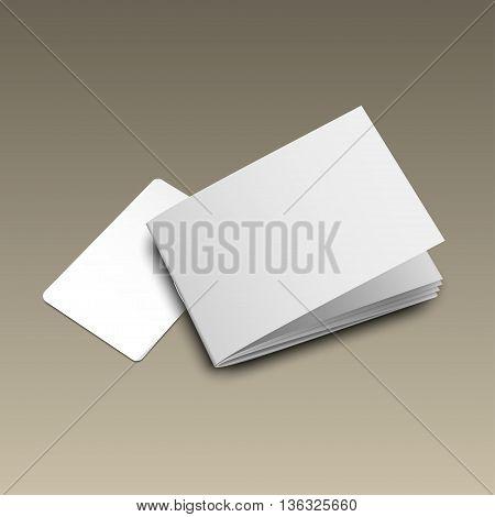 Business Card Mockup Gold5
