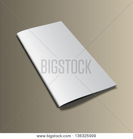Brochure Mockup Gold3