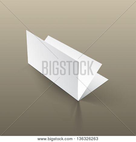 Brochure Mockup Gold7