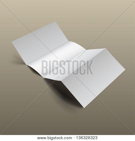 Brochure Mockup Gold9
